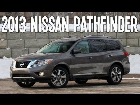 2013 NISSAN PATHFINDER REVIEW ENGINE START UP INTERIOR