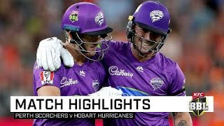 Dynamite D'Arcy explodes for ton as Hurricanes claim win | KFC BBL|09