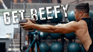 Get beefy out here! NFL Fullback Keith Smith (4K)