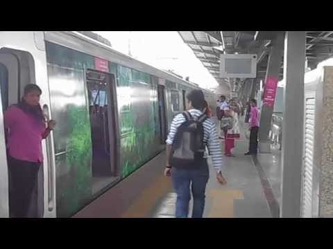 Times OOH Mumbai Metro - Kerala tourism train 5 Nov14
