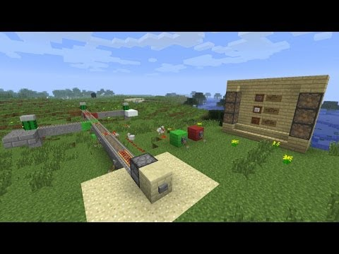 My Buildcraft S2E36 - Minecart Madness