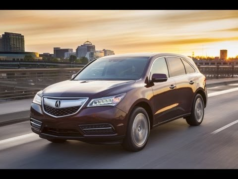 2014 Acura MDX SH-AWD Start Up and Review 3.5 L V6