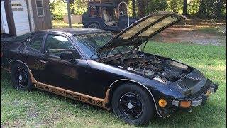 Black 1987 Porsche 924S -Part 1