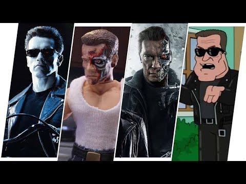 Terminator Evolution in Movies & TV (T-800, T-850, T-888)