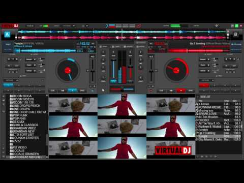 VIRTUAL DJ 8 - SCRATCH AND MIX LIKE A BOSS!! ( KEYBOARD ONLY )