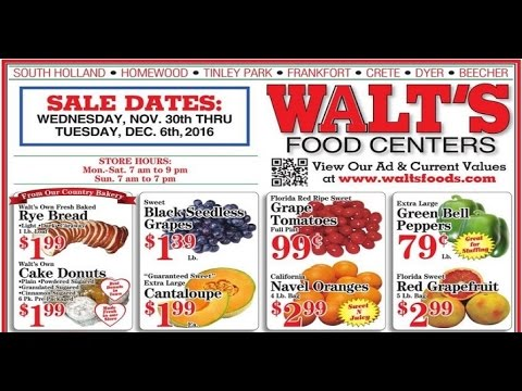 walt's weekly ad valid from today to 12/6 2016