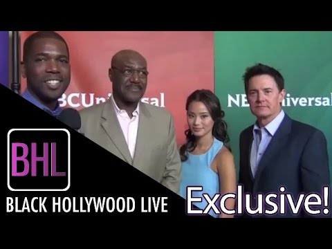 Delroy Lindo, Jamie Chung & Kyle MacLachlan from NBC's