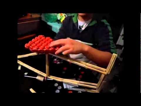 Como crear una bicicleta con material reciclado youtube for Como construir piletas de material