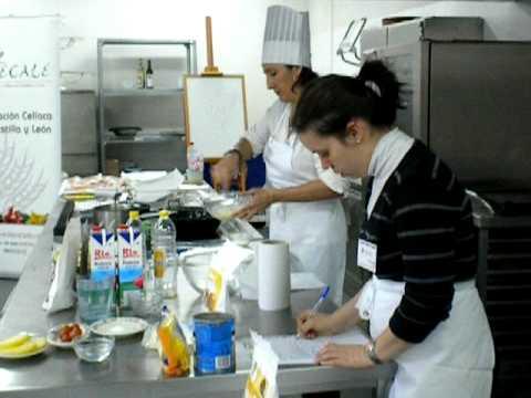 Curso cocina para celiacos