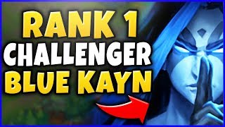 #1 KAYN WORLD STOMPS CHALLENGER WITH BLUE FORM Ft. TSM SVEN - S8 KAYN GAMEPLAY - League of Legends