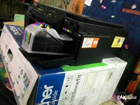 Brother Printer DCP-J100 Cara Mengatasi Head Buntu