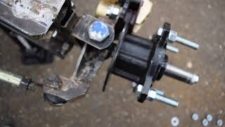 Off Road Go Kart CV Axles, Suspension, and Steering!