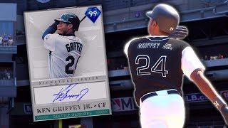 SIGNATURE SERIES KEN GRIFFEY JR. DEBUT! MLB The Show 19 Diamond Dynasty