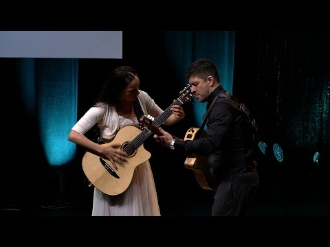 "Rodrigo y Gabriela perform ""Tamacun"" at UNHCR's Nansen Refugee Award ceremony"