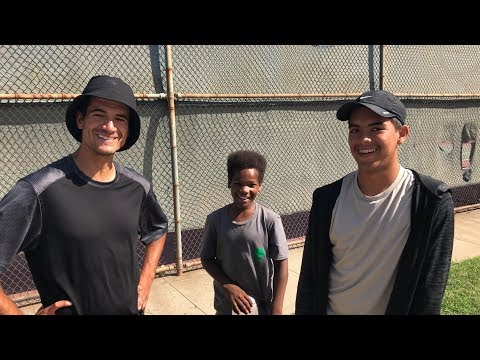 TWO COOL NEW SKATER KIDS !!! - NKA VIDS -