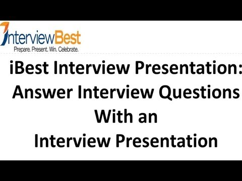 Answer Interview Questions With an Interview Presentation