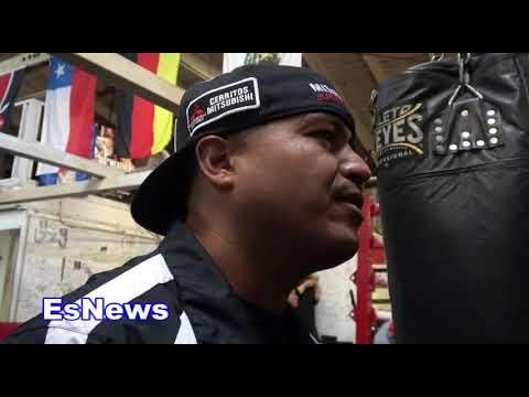 robert garcia asked about rios vs victor ortiz EsNews Boxing