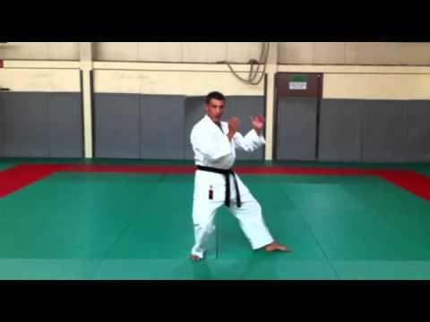 Kokutsu Dachi : Jambe Arrière Fléchie video