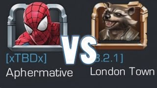 MARVEL: Contest of Champions (iOS/Android) APHERMATIVE vs SUPER GAMING FAMILY