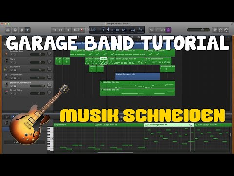 GARAGE BAND TUTORIAL #2 Musik schneiden