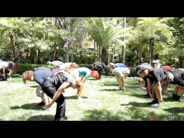 Kirk Kerkorian 95th B-Day Flash Mob - Beverly Hills Hotel