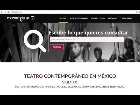 Presentación del sitio: TEATRON de Escenología en la FeLiT 2016