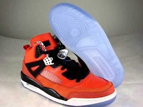 Air jordan Spiz'ike NY Knicks Orange  2011 edtion.wmv
