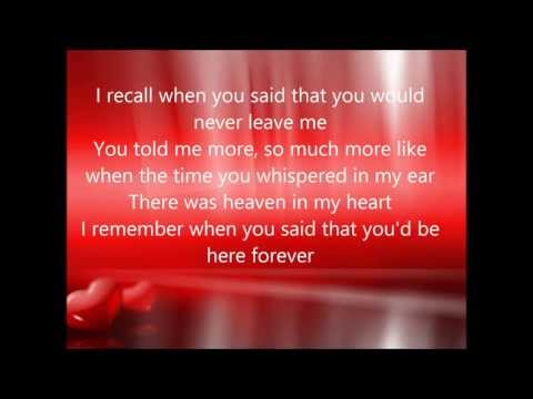Till My Heartaches End . . . with Lyrics ( Ella Mae Saison )