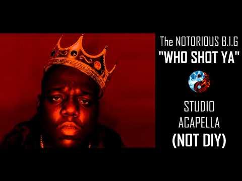 Notorious B.I.G - Who Shot Ya (Studio Acapella) NOT DIY!