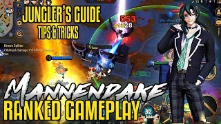 Mannendake | JUNGLE Ranked Gameplay | Jungler's Guide | Onmyoji Arena