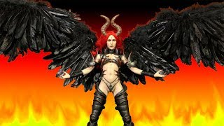 Lucifer: Wings of Fallen Deluxe 1/6 Scale Action Figure Set Review