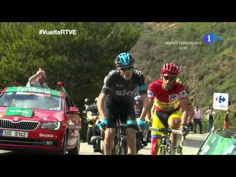 Etapa 16 Ultimos kilometros La Farrapona Vuelta a España 2014