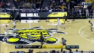 Men's Basketball Highlights: Cincinnati 66, Wichita State 55 (Courtesy CBS Sports)