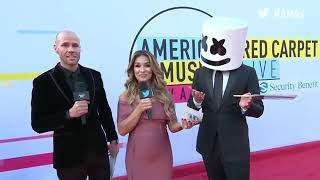 Download Lagu Marshmello Interview - AMAs Red Carpet 2017 Gratis STAFABAND