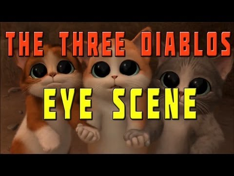 Puss in Boots - The Three Diablos Eye scene
