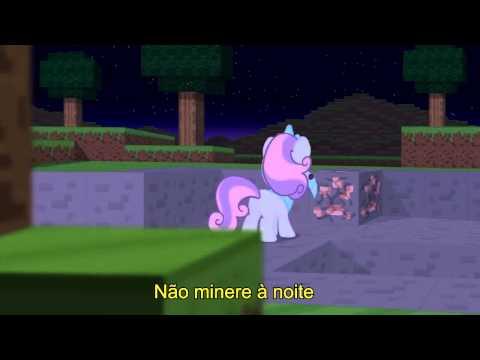 Legendado PT BR Dont Mine at Night Pony Parody Letra na descrição