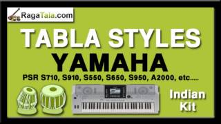 Jadugar saiyyan remix - Yamaha Tabla Styles - Indian Kit - PSR S710 S910 S550 S650 S950 A2000 ect...