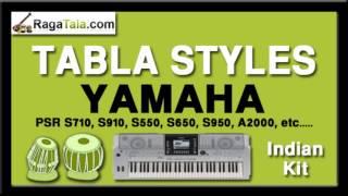 Jadugar saiyyan remix - Yamaha Tabla Styles - Indian Kit - PSR S710 S910 S550 S650 S950 A2000 ect...
