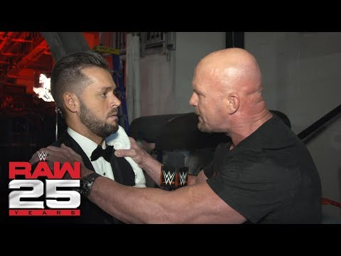 """""""Stone Cold"""" Steve Austin still loves to raise hell on Mr. McMahon: Raw 25 Fallout, Jan. 22, 2018"""