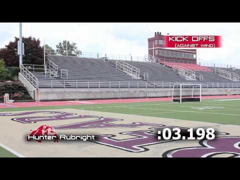 Hunter Rubright - Kicker - Wilson High School - Class of 2014