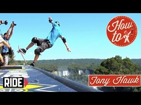 How-To Skateboarding: Frontside Blunt Stalls with Tony Hawk