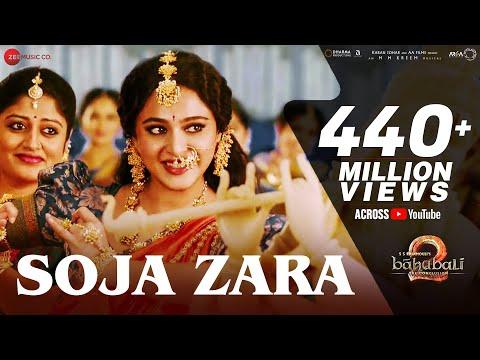 Soja Zara | Baahubali 2 The Conclusion | Anushka Shetty & Prabhas & Satyaraj | Madhushree |M.M.Kreem