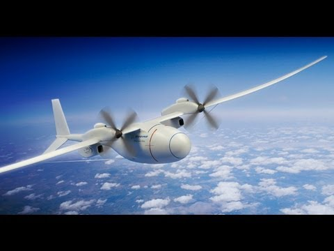 Boeing  Phantom Eye Drone UAS UAV can fly for 10 days