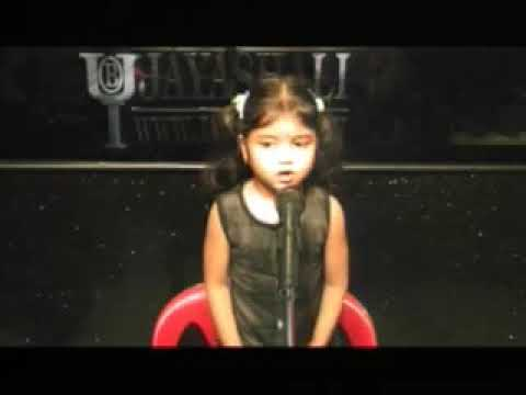 Jayashali Wonder Kids - Chinnari Keerthana Saying  1 To 10  Numbers video