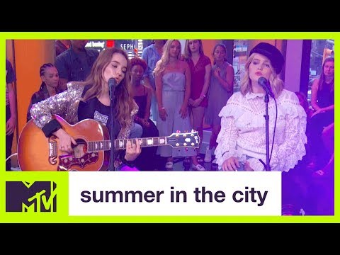 Kaitlyn & Mady Dever's First Live TV Performance | Summer in the City | MTV