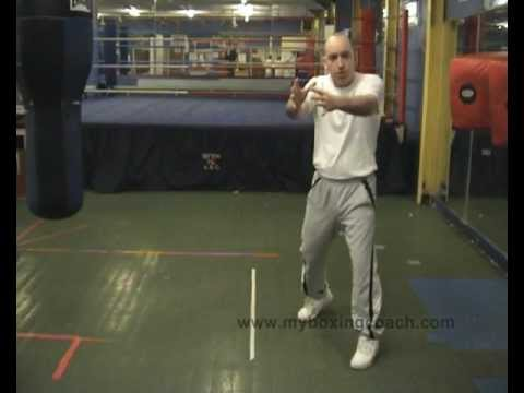 Boxing Techniques - Boxing Footwork - The Side Step Image 1