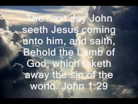 jesus lamb of god youtube