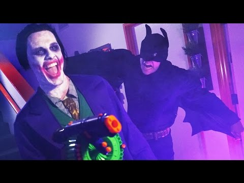 NERF Batman Challenge!