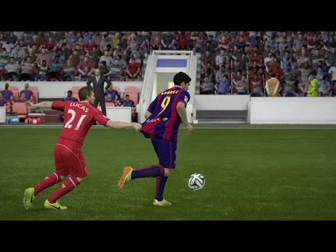FIFA 15 - Luis Suárez Debut Barcelona FC