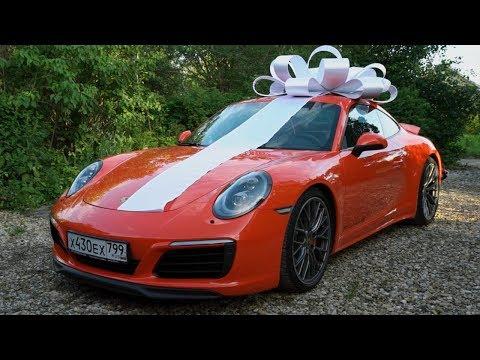 МЕЧТА ДЕТСТВА. Подарил Маме новый 911 Porsche :)